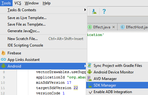 Setting Up NDK In Android Studio - Sound-Base Audio, LLC